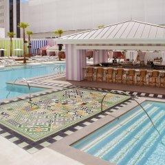 Отель SLS Las Vegas бассейн