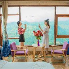 Отель The Grand Blue Hotel Вьетнам, Шапа - отзывы, цены и фото номеров - забронировать отель The Grand Blue Hotel онлайн балкон