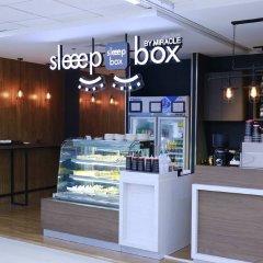 Отель Sleep Box By Miracle Бангкок питание фото 2