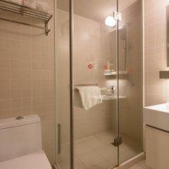 Отель Jinjiang Inn Select (Shenzhen Huanggang Port Imperial Plaza) Китай, Шэньчжэнь - отзывы, цены и фото номеров - забронировать отель Jinjiang Inn Select (Shenzhen Huanggang Port Imperial Plaza) онлайн ванная