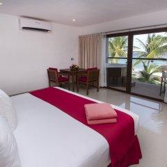 Le Reve Boutique Beachfront Hotel комната для гостей