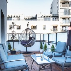 Апартаменты Mokotów Premium Apartment with Terrace балкон