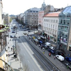 Отель Dfive Apartments - Synagogue Венгрия, Будапешт - отзывы, цены и фото номеров - забронировать отель Dfive Apartments - Synagogue онлайн балкон
