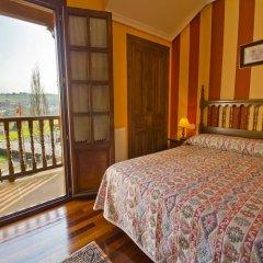 Отель Hostería Miguel Ángel балкон