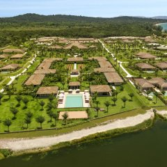 Отель Fusion Resort Phu Quoc Вьетнам, Остров Фукуок - отзывы, цены и фото номеров - забронировать отель Fusion Resort Phu Quoc онлайн приотельная территория фото 2