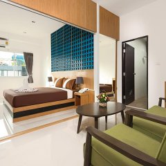 M.U.DEN Patong Phuket Hotel 3* Люкс разные типы кроватей