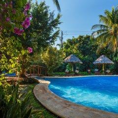 Отель Villas HM Paraíso del Mar Мексика, Остров Ольбокс - отзывы, цены и фото номеров - забронировать отель Villas HM Paraíso del Mar онлайн бассейн фото 3