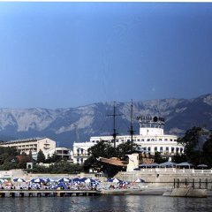 Отель Premier Palace Oreanda Ялта приотельная территория