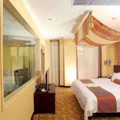 Отель Overseas Capital Hotel Китай, Джиангме - отзывы, цены и фото номеров - забронировать отель Overseas Capital Hotel онлайн комната для гостей фото 2