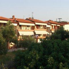 Отель Katerina Apartments Греция, Пефкохори - отзывы, цены и фото номеров - забронировать отель Katerina Apartments онлайн вид на фасад