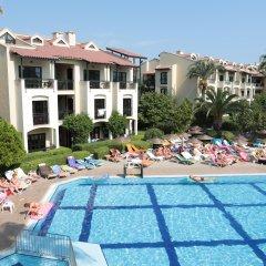 Club Turquoise Apartments Турция, Мармарис - отзывы, цены и фото номеров - забронировать отель Club Turquoise Apartments онлайн бассейн фото 2