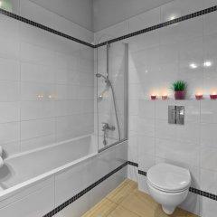 Отель Aurora Residence Польша, Лодзь - отзывы, цены и фото номеров - забронировать отель Aurora Residence онлайн ванная