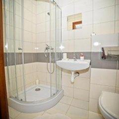 Отель Airport Motel GDN Польша, Гданьск - отзывы, цены и фото номеров - забронировать отель Airport Motel GDN онлайн ванная фото 2