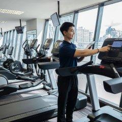 Отель AVANI Atrium Bangkok Таиланд, Бангкок - 4 отзыва об отеле, цены и фото номеров - забронировать отель AVANI Atrium Bangkok онлайн фитнесс-зал фото 3