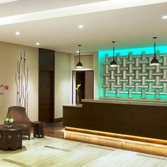 Отель Hilton Garden Inn Dubai Al Muraqabat Дубай интерьер отеля фото 3