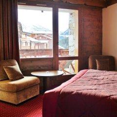 Hotel Mont Vallon Meribel комната для гостей фото 3