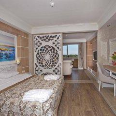 Crystal Sunset Luxury Resort & Spa Турция, Сиде - 1 отзыв об отеле, цены и фото номеров - забронировать отель Crystal Sunset Luxury Resort & Spa - All Inclusive онлайн комната для гостей