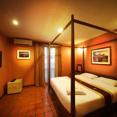 Отель Siamese Views Lodge Бангкок комната для гостей фото 5
