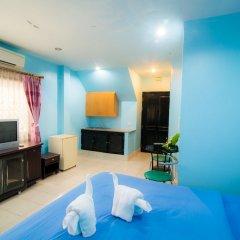 Апартаменты DE Apartment Паттайя комната для гостей фото 4