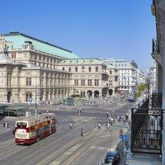 Отель Derag Livinghotel An Der Oper Вена балкон