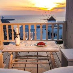 Отель Thetis Cave Villa Греция, Остров Санторини - отзывы, цены и фото номеров - забронировать отель Thetis Cave Villa онлайн балкон