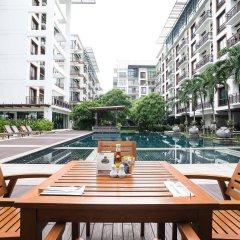 Отель Amanta Hotel & Residence Ratchada Таиланд, Бангкок - отзывы, цены и фото номеров - забронировать отель Amanta Hotel & Residence Ratchada онлайн балкон