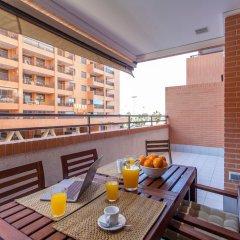 Отель Valencia Flat - Patacona Beach 11 балкон