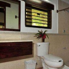 Hotel Rancho Encantado ванная