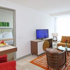 Отель Cali Marriott Hotel Колумбия, Кали - отзывы, цены и фото номеров - забронировать отель Cali Marriott Hotel онлайн комната для гостей фото 4