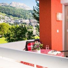 Отель Skyline House Ferienapartments Швейцария, Санкт-Мориц - отзывы, цены и фото номеров - забронировать отель Skyline House Ferienapartments онлайн балкон