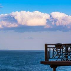 Отель Blue Bay пляж