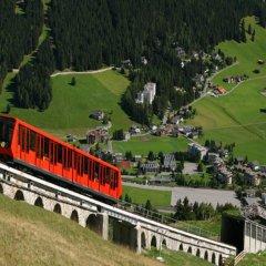 Отель Alte Post Швейцария, Давос - отзывы, цены и фото номеров - забронировать отель Alte Post онлайн приотельная территория фото 2