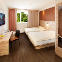 Star Inn Hotel Stuttgart Airport-Messe, by Comfort сейф в номере