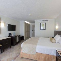 Отель Krystal Cancun Мексика, Канкун - 2 отзыва об отеле, цены и фото номеров - забронировать отель Krystal Cancun онлайн комната для гостей фото 14
