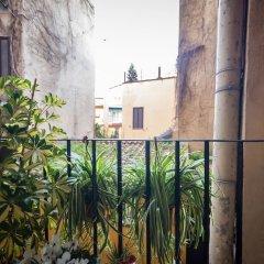 Отель Babuccio Art Suites Италия, Рим - отзывы, цены и фото номеров - забронировать отель Babuccio Art Suites онлайн балкон