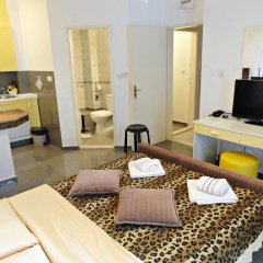 Отель Sun Rose Apartments Черногория, Свети-Стефан - отзывы, цены и фото номеров - забронировать отель Sun Rose Apartments онлайн комната для гостей фото 3