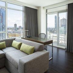 Отель Element Vancouver Metrotown Канада, Бурнаби - отзывы, цены и фото номеров - забронировать отель Element Vancouver Metrotown онлайн комната для гостей фото 4