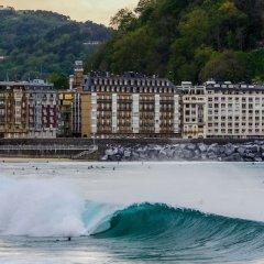 Отель Surfing Etxea Испания, Сан-Себастьян - отзывы, цены и фото номеров - забронировать отель Surfing Etxea онлайн пляж фото 2