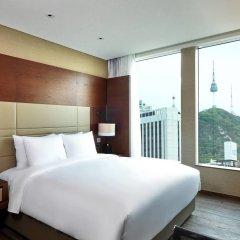 Отель Courtyard by Marriott Seoul Namdaemun Южная Корея, Сеул - отзывы, цены и фото номеров - забронировать отель Courtyard by Marriott Seoul Namdaemun онлайн комната для гостей фото 3