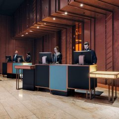 Отель Pullman Berlin Schweizerhof интерьер отеля