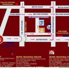 Отель Chanchal Deluxe Индия, Нью-Дели - отзывы, цены и фото номеров - забронировать отель Chanchal Deluxe онлайн с домашними животными