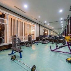 Vikingen Infinity Resort&Spa Турция, Аланья - 2 отзыва об отеле, цены и фото номеров - забронировать отель Vikingen Infinity Resort&Spa онлайн фитнесс-зал фото 2