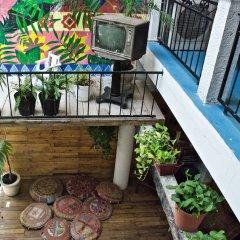 Отель Macarena Hostel Мексика, Канкун - отзывы, цены и фото номеров - забронировать отель Macarena Hostel онлайн балкон