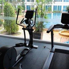 Отель Nam Talay Jomtien Beach Паттайя фитнесс-зал