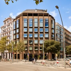 Отель Almanac Barcelona Барселона вид на фасад