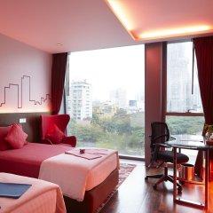 Отель Galleria 10 Sukhumvit Bangkok by Compass Hospitality 4* Номер Делюкс с различными типами кроватей фото 8