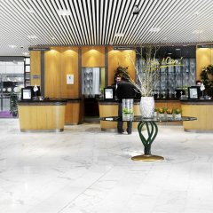 Отель Radisson Blu Scandinavia Hotel, Aarhus Дания, Орхус - отзывы, цены и фото номеров - забронировать отель Radisson Blu Scandinavia Hotel, Aarhus онлайн фитнесс-зал фото 2