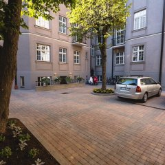 Апартаменты Riga Lux Apartments - Skolas парковка