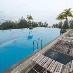 Отель The Gurney Resort Hotel & Residences Малайзия, Пенанг - 1 отзыв об отеле, цены и фото номеров - забронировать отель The Gurney Resort Hotel & Residences онлайн бассейн фото 2