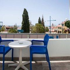 Отель Smartline Cleopatra Annex балкон